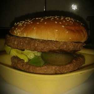 Double Bicky Burger